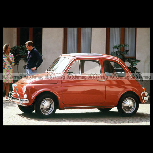 #pha.006827 Photo FIAT 500 L 1968 CLASSIC Car Auto