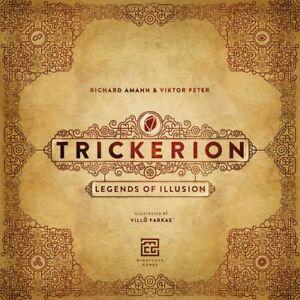 Trickerion, Jeu De Société, New By Mindclash Games, English Édition