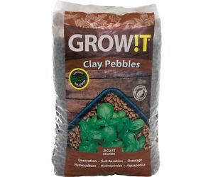 Hydrofarm-GROW-T-Horticultural-100-Natural-Clay-Pebbles-25-Liter-Bag-GMC25L