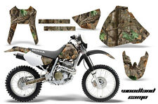 Honda Graphic Kit AMR Racing Bike Decal XR 400 Decal MX Parts 96-04 WOODLAND CAM