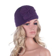 9ccbae54f31a5 item 8 Womens GATSBY 1920s Winter Wool Cap Beret Beanie Bucket Floral Hat  A289 -Womens GATSBY 1920s Winter Wool Cap Beret Beanie Bucket Floral Hat  A289