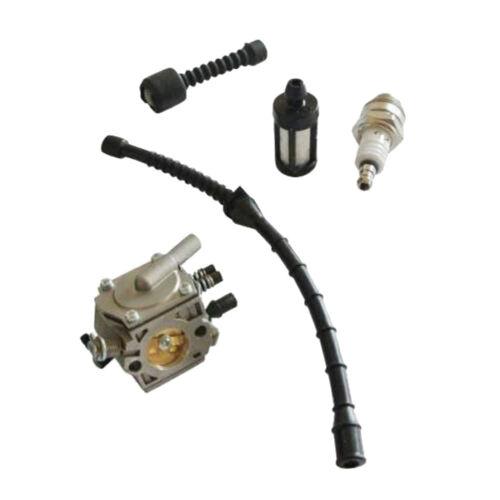 High Quality Carburetor For Stihl 038 MS380 MS381 Carb Fuel Filter Kit Set