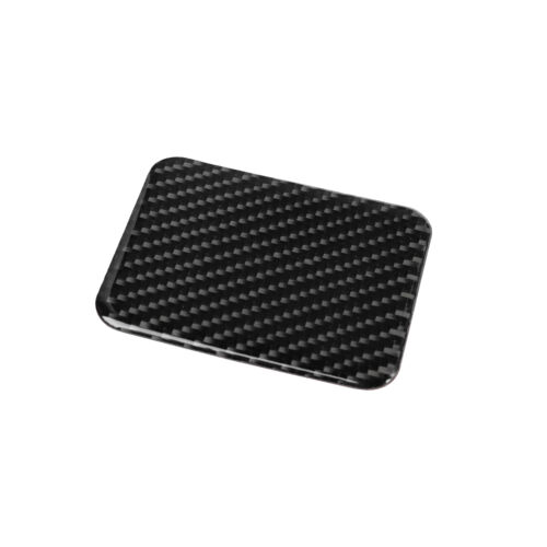 Carbon Fiber Seat Heating Button Decal Trim Cover For Subaru BRZ Toyota 86 13-19