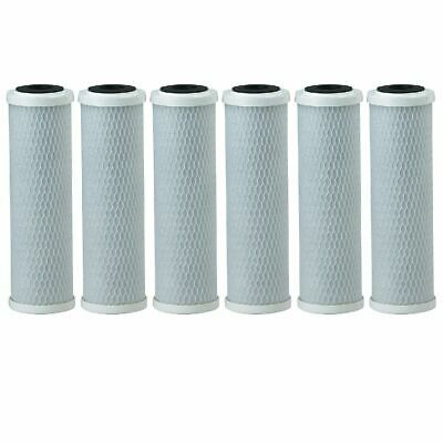 4 Pack Fits Pentek CB1-10 Compatible 1 Micron Standard 10 Carbon Water Filter 255382-43