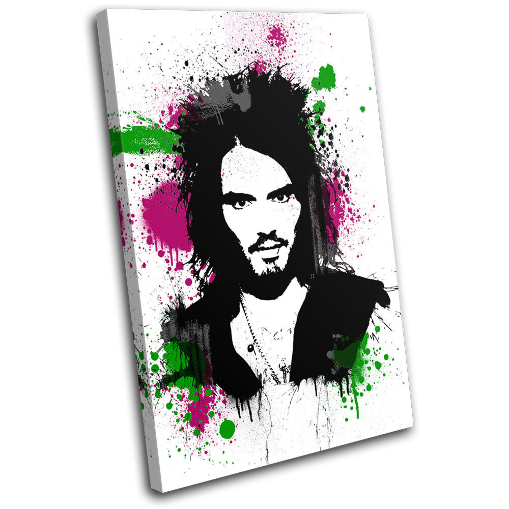 Russell Brand Abstract Musical SINGLE LONA LONA SINGLE pared arte Foto impresion 852478