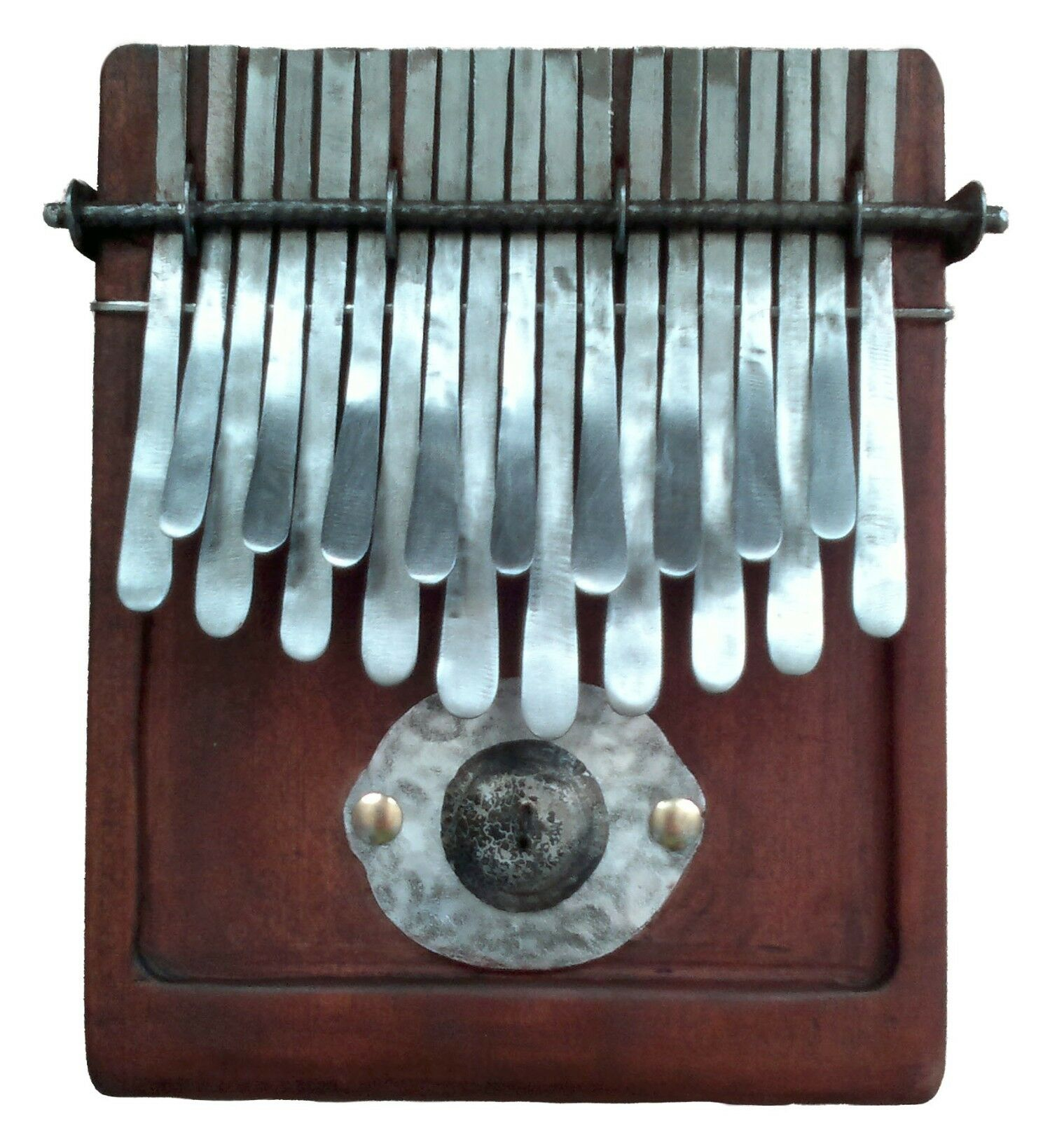 19-key Kalimba in F major tuning   Incl. kalimba bag   African thumb piano