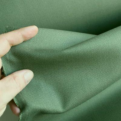 oliv Baumwoll-Stoff robustes Canvas Segeltuch Polster Taschen Kleidung Meterware