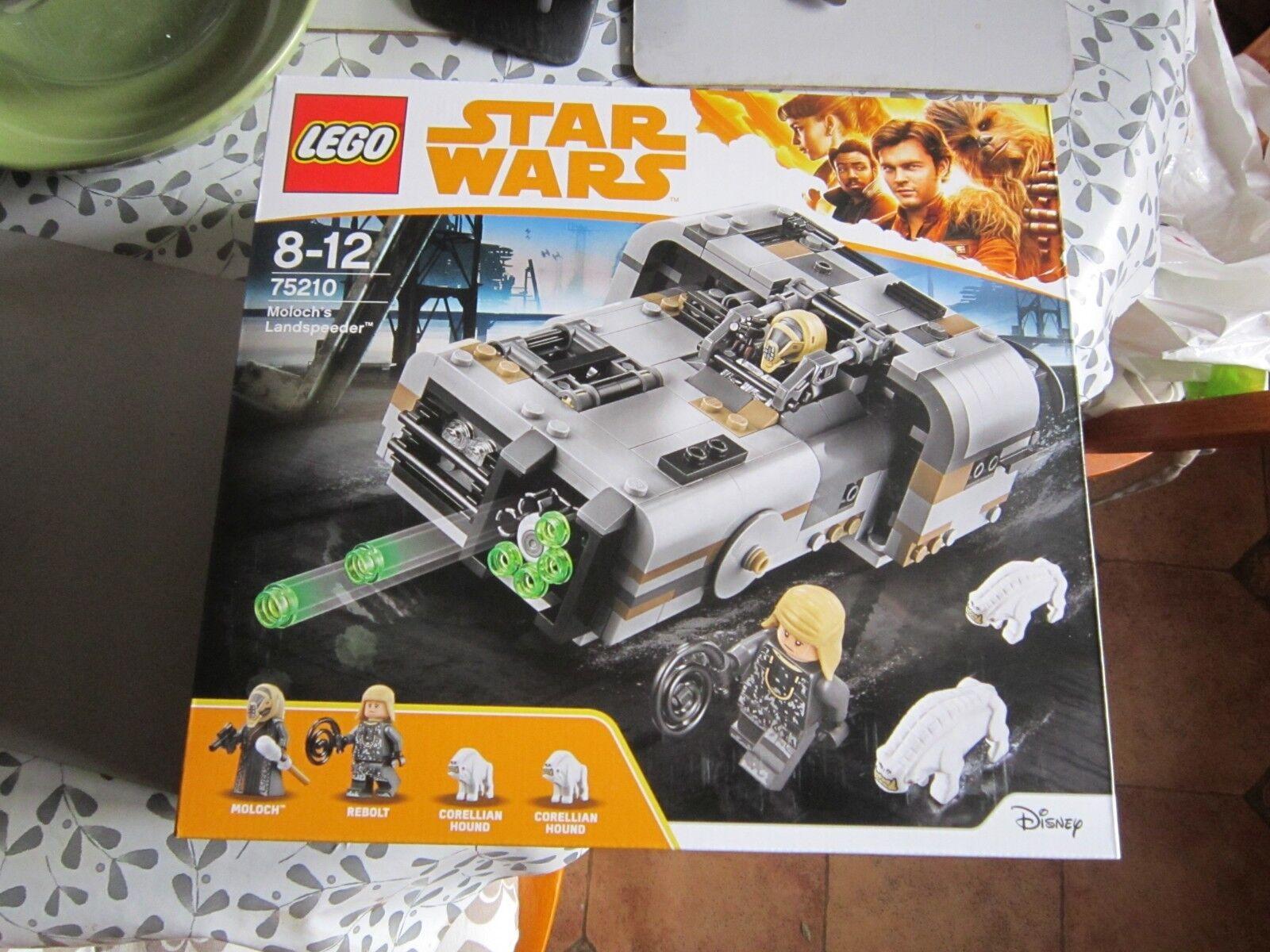 Brand new moloch's moloch's moloch's landspeeder, lego star wars 75210 44b6ab