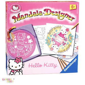 HELLO KITTY MANDALA DESIGNER RAVENSBURGER  eBay