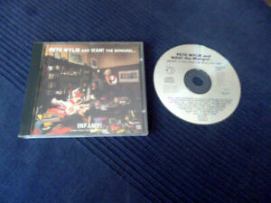 CD Pete Wylie & Wah! The Mongrel ?  Infamy! (Julian Cope) prod.KLF Nova Mob 1991