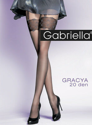 Mock Suspender Stockings Tights Imitation Stockings Gabriella Gracya 20 Den