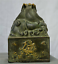6-034-Old-Chinese-Palace-Bronze-Gilt-Beast-Dragon-Dynasty-Imperial-Seal-Stamp-Signet thumbnail 6