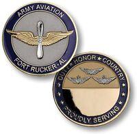 U.s. Army Aviation / Fort Rucker, Al - Challenge Coin