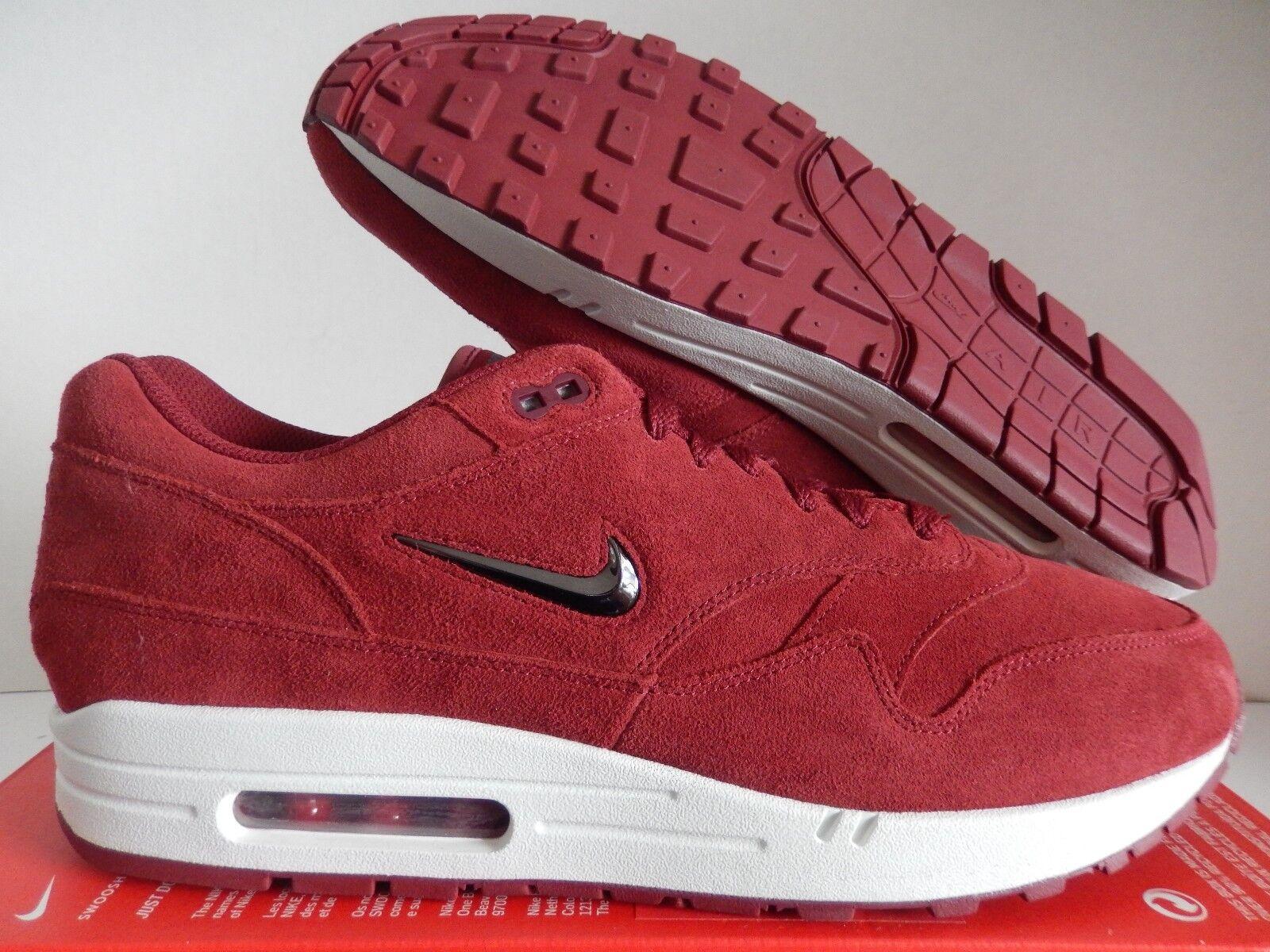 Nike Air Max 1 Jewel Red Suede 918354 600