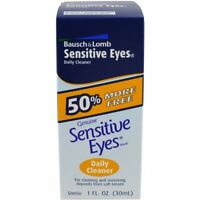 2 Pack - Bausch & Lomb Sensitive Eyes Daily Cleaner 30 Ml Each on sale
