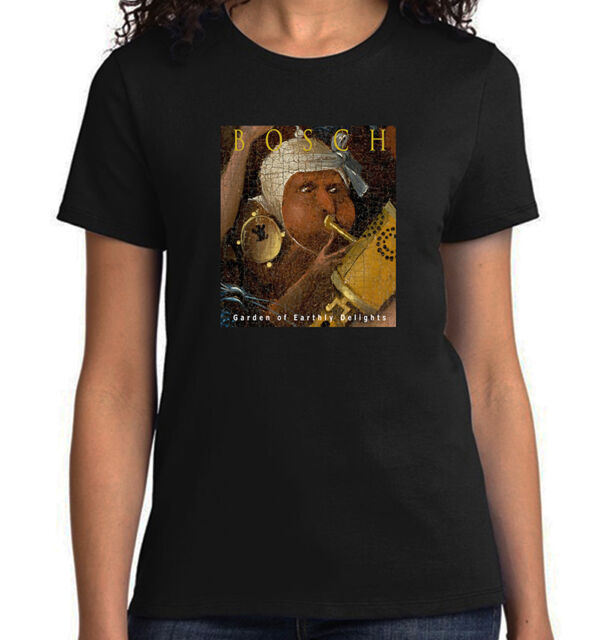 HIERONYMUS BOSCH shirt Bosch t-shirt Hell from The Garden of Earthly Delights