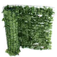 Artificial Ivy Leaf Privacy Fence Screen Decoration Panels 58.5 Tall X 94 Long
