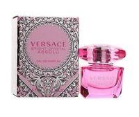 Versace Bright Crystal Absolu Women Mini Bottle 0.17 Oz 5 Ml Eau De Parfum on sale