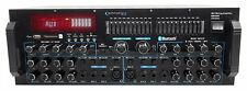 Technical Pro Mm3000 Powered Bluetooth Microphone Mixer Amplifier Amp SD USB
