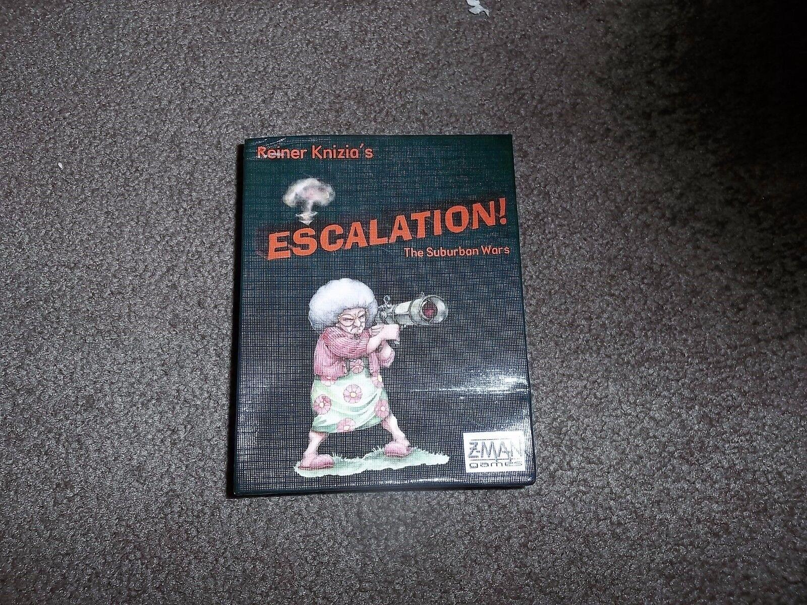 Z-Man Games Escalation The Suburban Wars