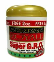 African Royale Super Gro Gelatin Rich Oil, 6 Oz (pack Of 3) on sale