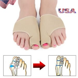 1Pair-Bunion-Gel-Sock-Orthopedic-Sleeve-Hallux-Valgus-Corrector-Relief-Foot-Pain