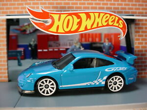 2020 Hw Exotics Design Porsche 911 Gt3 Rs Blue White 10 Sp Loose Hot Wheels Ebay