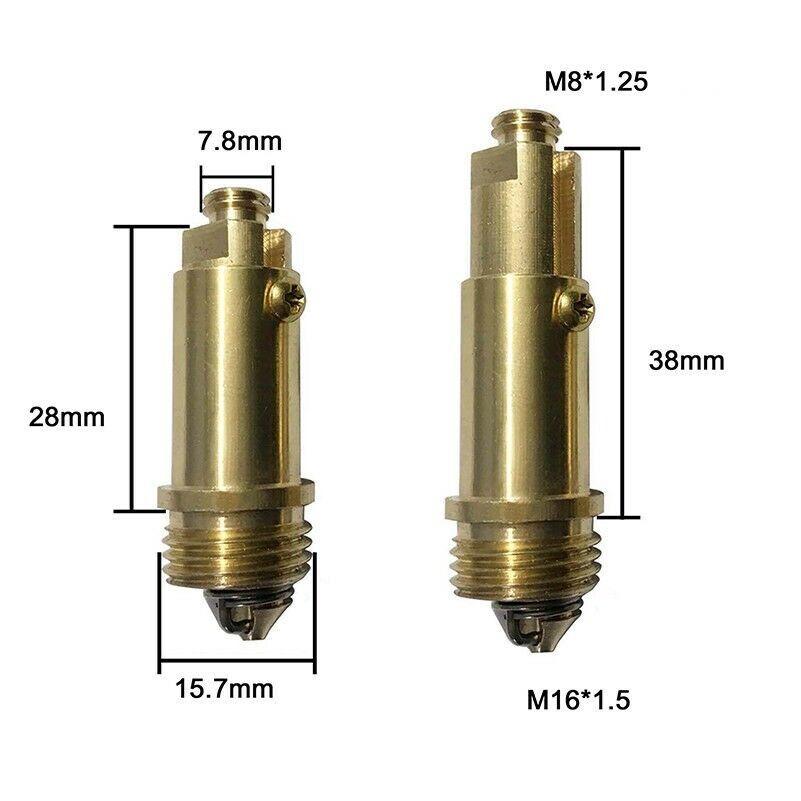 Las aguas residuales pop up conector reemplazo pernos Clic Clac primavera baño cocina
