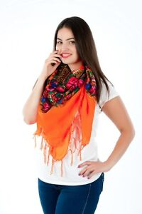 Colourful-Large-floral-folk-vintage-style-scarf-shawl-fringe-new-collection-2