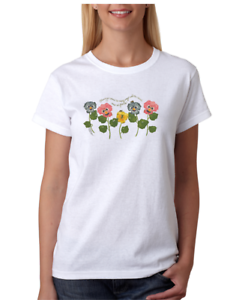 USA-Made-Bayside-T-shirt-Blessings-Come-In-Many-Ways-Flower-Shirt-Flowers