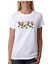 USA-Made-Bayside-T-shirt-Blessings-Come-In-Many-Ways-Flower-Shirt-Flowers thumbnail 1
