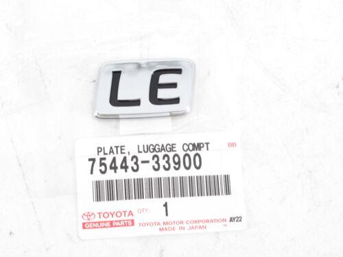 "Genuine OEM Toyota 75443-33900 /""LE/"" Rear Badge Nameplate Emblem 1997-2001 Camry"