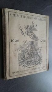 Almanach Illustre Delle Famiglie 1906 Oeuvre Di st-François Sales Frontespizio
