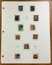 {BJ STAMPS} US Better Used Classic Stamp Collection 24, 35,73,77,112,113,116,121