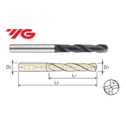 Long Metric YG1-DH408057 5.7 mm Carbide Dream Drill 5XD Coolant Thru