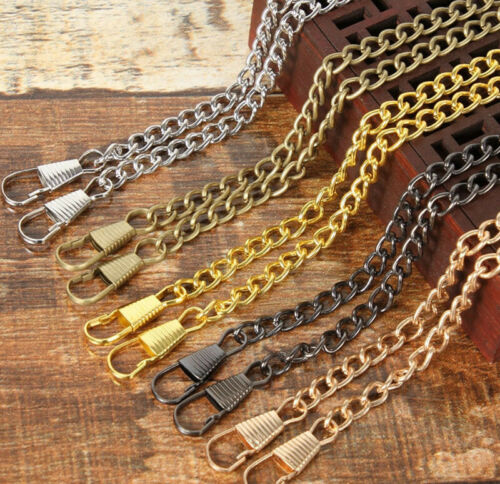 Hot 40 ~ 120 CM Smooth Metal Chain for Handbag purse or Bag