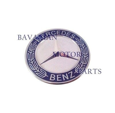 Mercedes Benz Hood Emblem Star Update With Flat Mount Hood Emblem Badge Logo