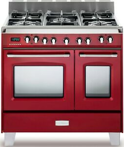 Verona Classic Series VCLFSGE365DR 36 Inch Pro-Style Dual-Fuel Range