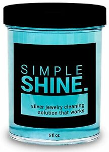 New Silver Jewelry Cleaner Solution Cleaning For