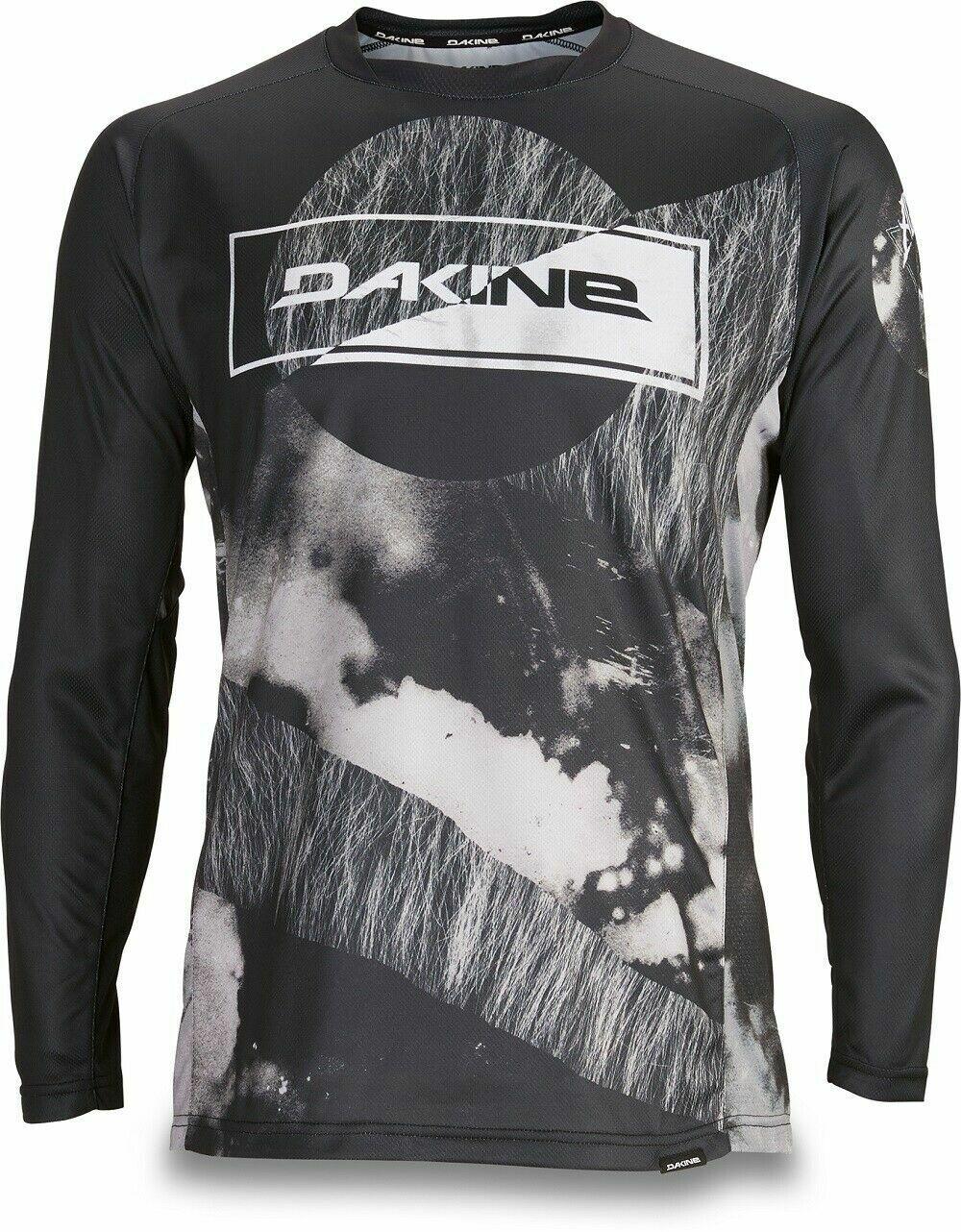 Dakine Aggy Blk Thrillium Long Sleeve Bike Jersey Downhill Mountain Biking MTB
