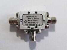 Used Good MAGNUM MICROWAVE MC54PL-5 3.5-12GHz MIXER #C2BJ