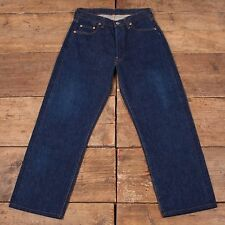 "Mens Vintage 1980s 501 555 Stamp Levis Selvedge Denim Jeans 30"" X 28"" R5005"