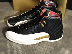 new concept 935ca 3e62e Details about Air Jordan 12 🔥🔥Retro 🔥🔥CNY 2019 🔥🔥Chinese New Year  🔥🔥size 11