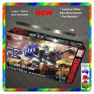 Hasbro Transformers Generations Titans Return Fortress Maximus Action Figure