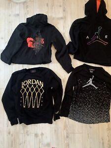 Jordan Sweatshirts, Size YL - Lot of 4