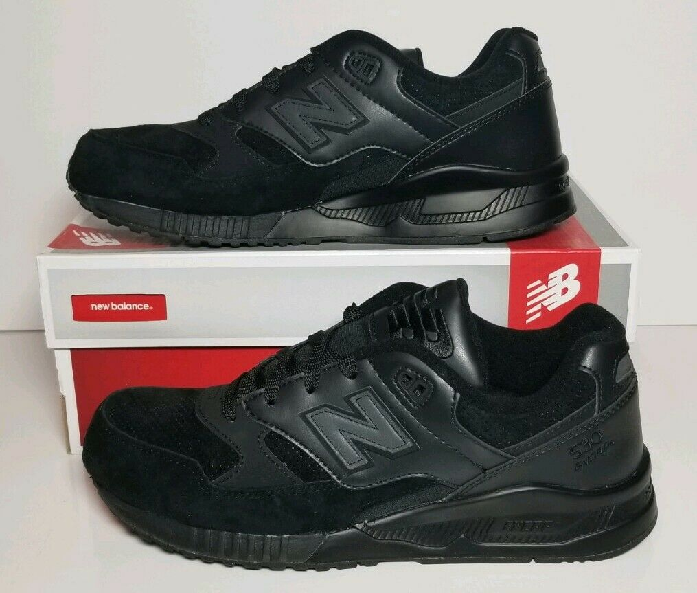 NEW BALANCE CLASSICS MEN'S SIZE 9.5 NEW IN BOX BLACK  M530BAA