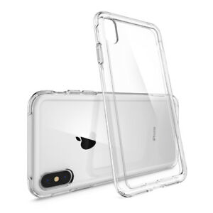 promo code 35895 f09fb Details about Spigen® [Crystal Hybrid] Hybrid Bumper Shockproof Case For  iPhone Xs/Xs MAX