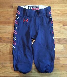 New-Under-Armour-Auburn-Tiger-Game-Pants-Football-Men-039-s-M-Navy-Orange-White-120