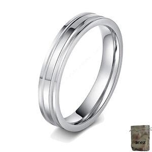 Original Enez Ring Trauring Ehering Edelstahlring Gr 8 18,1mm B 4mm R2619