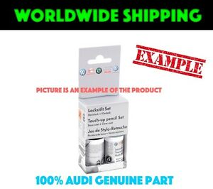 Audi-Candyweiss-B9A-Touch-Up-Set-LST0U2B9A-Genuine-New